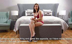 Mashka Singer hot virgin masturbation