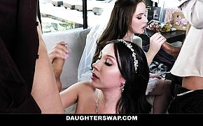 DaughterSwap  Teen Brides Have Orgy Before Wedding