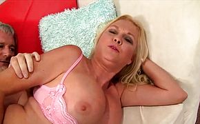 Golden Slut  Grandma Gets Plowed Comp