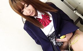 Japanese schoolgirl Misaki Asuka had sex uncensored