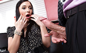 Ashli Orion and Bill Bailey in Naughty Office
