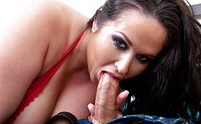 Carmella Bing and Christian in I Have a Wife