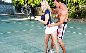 Katie Summers and Marco Banderas in Naughty Athletics