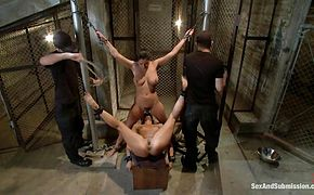 Bondage humiliation and hardcore