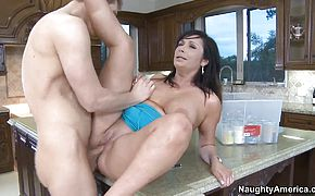 Danny Wylde pleasures busty milf Vannah Sterling