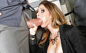 Rachel Roxxx and Billy Glide in Naughty Office