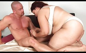 Unforgettable RedheadBBWMilf with HugeBoobs fucked