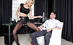 Gigi Allens and Seth Gamble in Naughty Office
