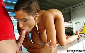 Sensual Jane in Fucked hard in public