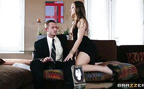 Dani Daniels in the hottest seduction with fat cock