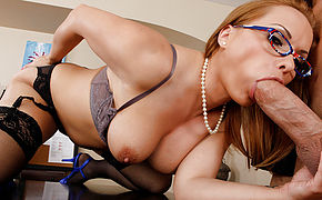 Katja Kassin and Billy Glide in Naughty Office