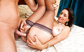 Persia Monir and Seth Gamble in My Friends Hot Mom
