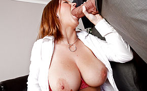 Sara Stone and Billy Glide in Naughty Office
